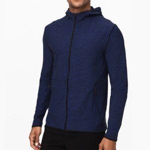 Lululemon Surge Warm Full Zip Jacket Hoodie Navy